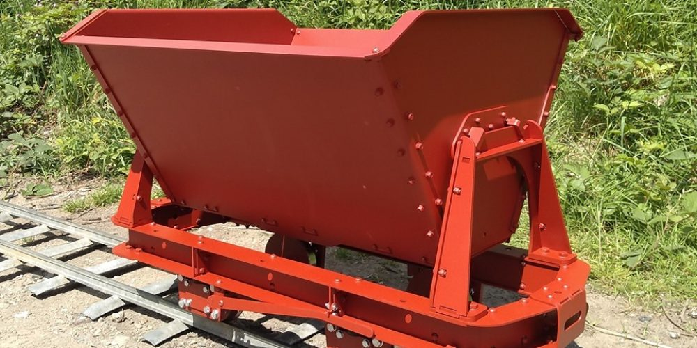 The new bolt together tipper wagon is now available.